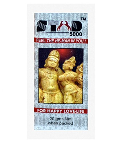STAD 5000 - Delay Spray pour Hommes - (Fraise) 20gm Pack