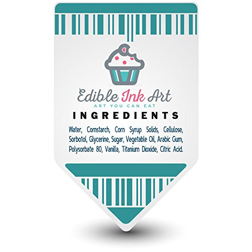 Fortnite Edible Image Cake Topper Personalized Icing Sugar Paper A4 Sheet Edible Frosting Photo Cake 1/4 ~ Best Quality Edible Image for cake by EdibleInkArt (Image #2)