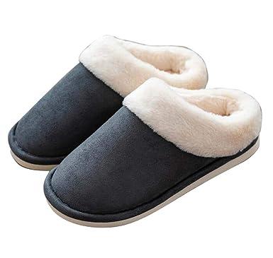 Black Temptation Zapatillas de interior de invierno, señoras niñas Botines de invierno suave de confort antideslizante felpa, A4: Amazon.es: Ropa y ...