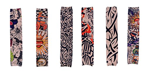 Simplicity Colored Patterned Sleeves Stretch