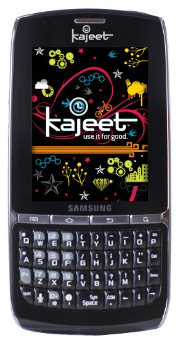 Samsung Replenish Android Prepaid Phone, Black (Kajeet)