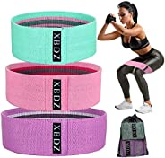 XBDZ Booty Bands, Resistance Bands for Legs and Butt, Workout Exercise Hip Bands, Thigh Glute Bands Non Slip F