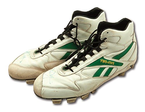(1996 Mark Mcgwire Signed Oakland A's Game Used Reebok Signature Model Cleats - PSA/DNA Certified - MLB Game Used Cleats)