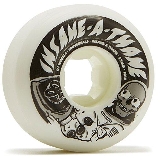 リンス不健全ズームOJユニバーサルMan Insaneathane Universals 101 A Skateboard Wheels – 55 mm