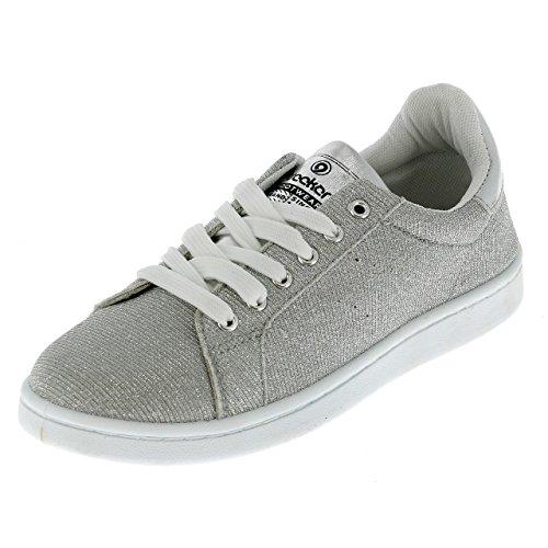 Bogota Chaussures Running Argent Paillette Mode Treeker9 FCwqZS7w