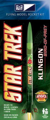 MPC Star Trek Klingon Bird-of-Prey Rocket