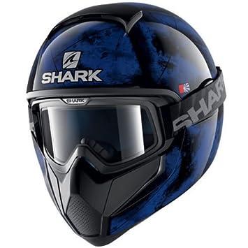 Casco integral Shark Moto Cross VANCORE Flare KBK Modelo 2017 Talla S