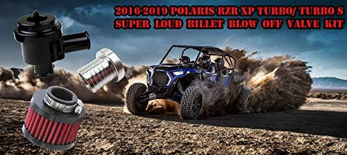 2016-2017-2018-2019 Polaris RZR XPT Turbo Billet Blow Off Valve Kit