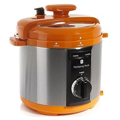 Wolfgang Puck BPCRM800 Automatic 8-quart Rapid Pressure Cooker, Orange