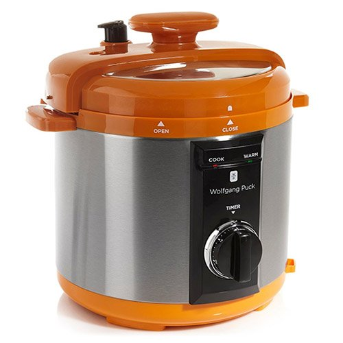 Wolfgang Puck BPCRM800 Automatic 8-quart Rapid Pressure Cooker, Orange ;(from_dealyard Review