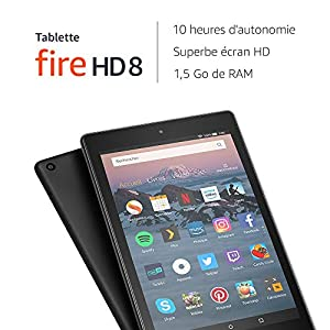 tablette fire hd 8 avec cran hd 8. Black Bedroom Furniture Sets. Home Design Ideas