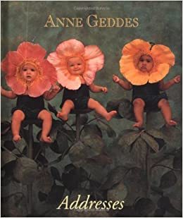 anne geddes wild roses little address book