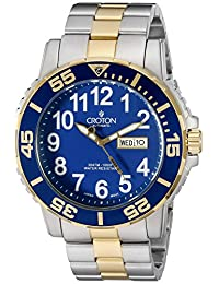 CROTON Men's CA301281TTBL Analog Display Chinese Automatic Two Tone Watch