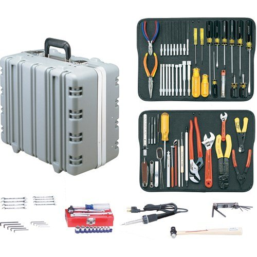 Jensen Tools - JTK-17LST - Kit in Super Tough Case, 6-1/4 Deep. by Jensen