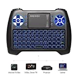 ANEWISH USB Mini Wireless Keyboard Backlit with Touchpad - Best Reviews Guide