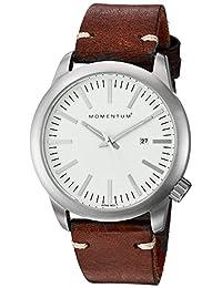 Momentum Men's 1M-SP10W3C Analog Display Japanese Quartz Brown Watch