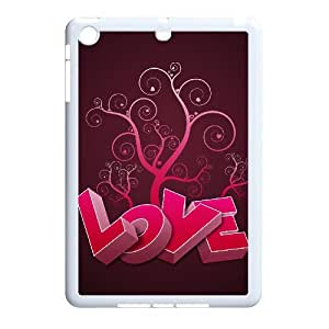 DIYCASETORE Diy Case Love Pink Customized Case For iPad Mini