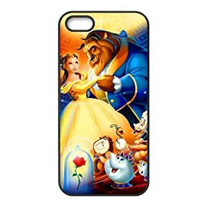 customized Beauty and the Beast for Iphone 5,5s case iphone 5-brandy-140069