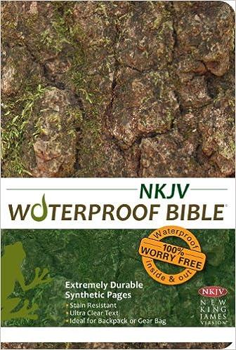 Waterproof Bible - NKJV - Camouflage: Bardin & Marsee
