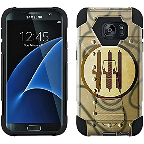 Samsung Galaxy S7 Edge Hybrid Case Vinatage Italian Air Force War Plane Fuselage 2 Piece Style Silicone Case Cover with Stand for Samsung Galaxy S7 Edge Sales