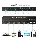 Portta HDMI/ MHL 3 Ports 3X1 Switcher Switch ARC