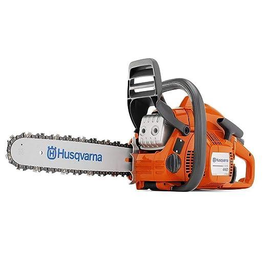Amazon.com: Husqvarna 440 Cadena de gas de 2 ciclos (40,9 cc ...