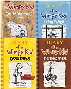 Diary of a wimpy kid blank journal book by jeff kinney diary of a wimpy kid 4 book collection dog days third wheel cabin solutioingenieria Gallery
