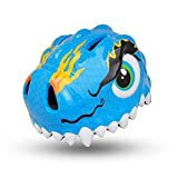 Cheap ESASAM 3D Design Dinosaur Infant/Toddler Bike Helmets for Kids (BLUE)