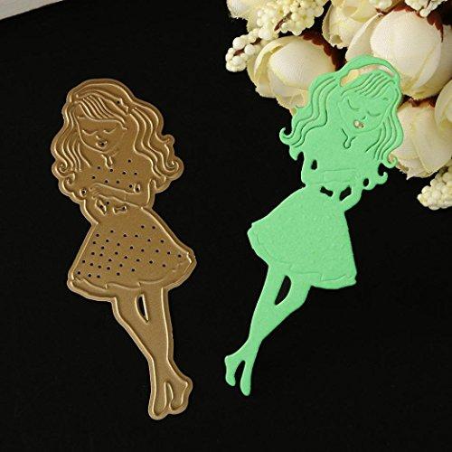 Flower Metal Cutting Dies Stencils DIY Scrapbooking Album Paper Card Crafts by Topunder C]()