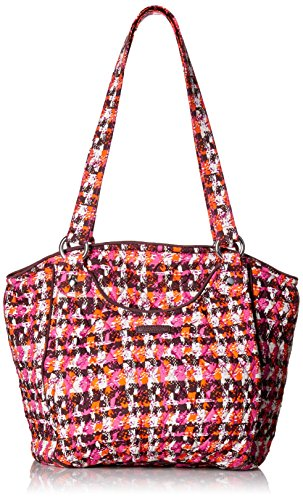Womens Brown Tweed - Vera Bradley Glenna, Houndstooth Tweed