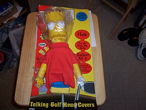 Bart Simpson Talking Golf Head Cover (The Simpsons Golf Club Covers)