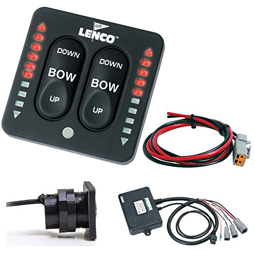 Lenco LED Indicator Two-Piece Tactile Switch Kit w/Pigtail f/Single Actuator Systems (Lenco Parts)