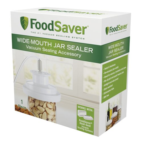 Wide Mouth Food - FoodSaver T03-0023-01 Wide-Mouth Jar Sealer
