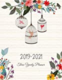 2019-2021 Three Yearly Planner: Goals Monthly