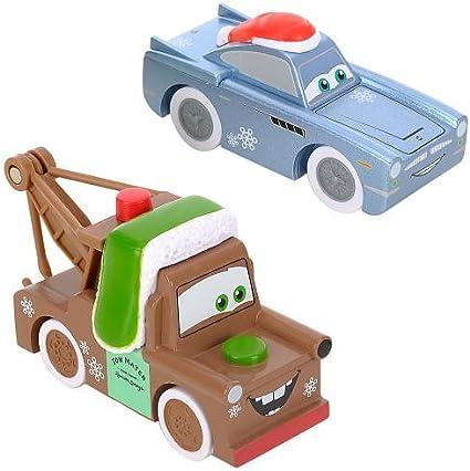 Amazon Com Disney Pixar Cars 2 Wood Collection Finn Mcmissile