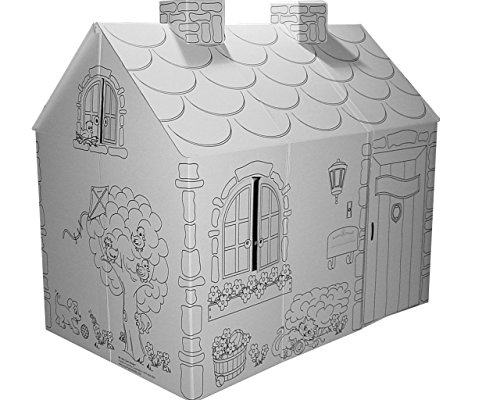My Very Own House Coloring Playhouse, Cottage