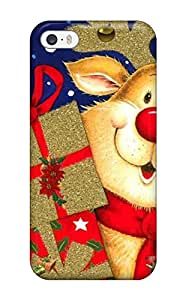 Hot Christmas First Grade Tpu Phone Case For Iphone 5/5s Case Cover