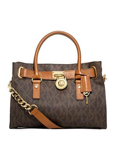 Michael Kors Signature Hamilton Mk Logo E  W Satchel - Buy Online in UAE.   Apparel  Products in the UAE - See Prices, Reviews and Free Delivery in Dubai, ... 660c965305