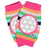 Bella Tunno Happy Knees Baby Knee Pads, Rainbow Ring Pop