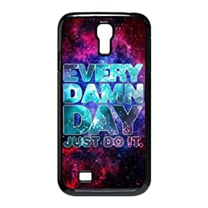 Just do it Hard Plastic Back Cover Case for Samsung Galaxy S4 I9500 WANGJING JINDA