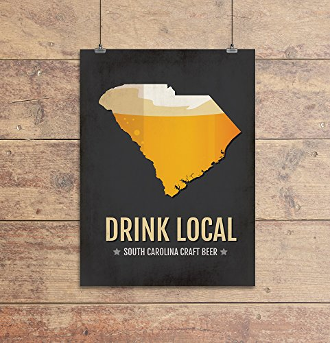 south-carolina-beer-print-map-sc-drink-local-craft-beer-sign-boyfriend-gift-husband-gift-beer-gift-b