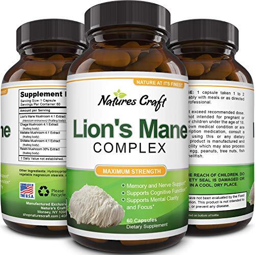 Nootropic Lions Mane Mushroom