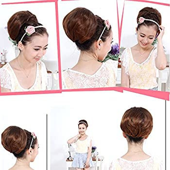 MAYSU Calyx Shape Clip In Hair Wrap Ponytail Updo Clip in Hair Pieces PP06-2T30