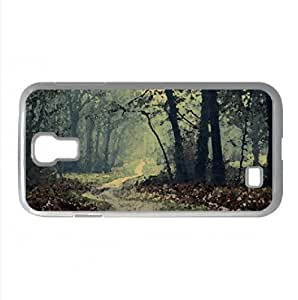 Cloudy Autumn Day Watercolor style Cover Samsung Galaxy S4 I9500 Case (Autumn Watercolor style Cover Samsung Galaxy S4 I9500 Case)