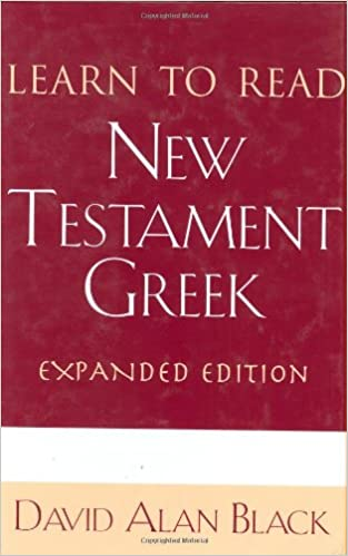 Book Learn to Read New Testament Greek