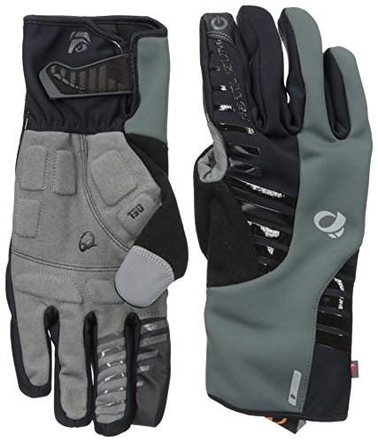 Pearl iZUMi - Ride Men's Elite Softshell Glove, Black, Medium - Izumi Bridge
