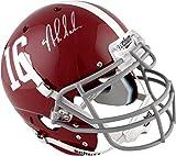 Nick Saban Alabama Crimson Tide Autographed Schutt Full Size Pro Helmet - Fanatics Authentic Certified