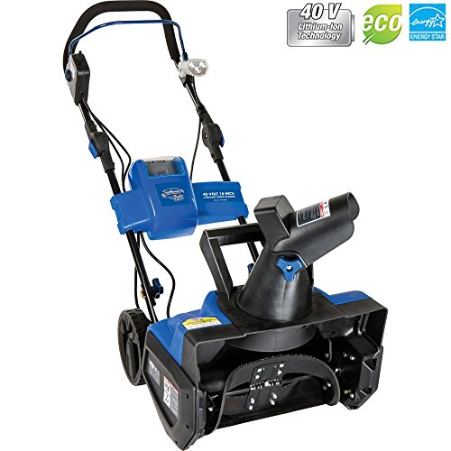 Snow Joe Ion Cordless Single Stage Snow Blower W/ Rechargeable Battery iON18SB - (Certified Refurbished) by Snow Joe
