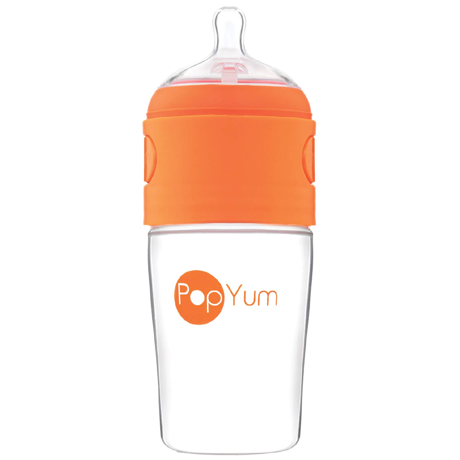 PopYum 260 ml Anti-Colic Formula Making/Mixing / Dispenser Baby Bottle (9 oz) PYB01100