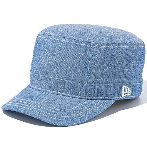ニューエラ NEW ERA 帽子 WM01 CHAMBRAY ワークキャップ ブルー 7 1/2